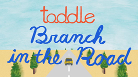 "toddle ""toddle - Branch in the Road (Direction : Yuko Shoji, Animation : Yuka-chan, Illustration : Shinji Abe)&#34