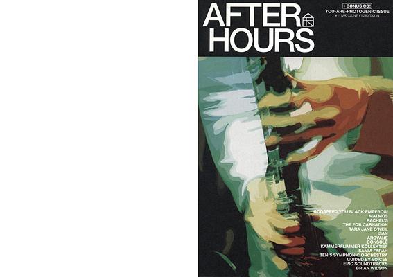 カレラ afterhours 11 front cover by karl grandin 1